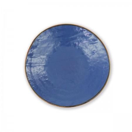 Piatto Dessert Blu Mediterraneo