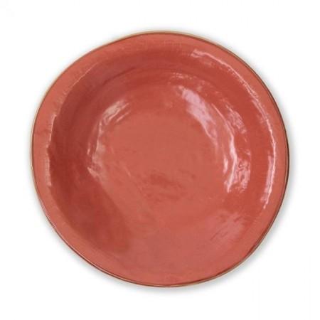 Piatto Fondo Arancione Mediterraneo