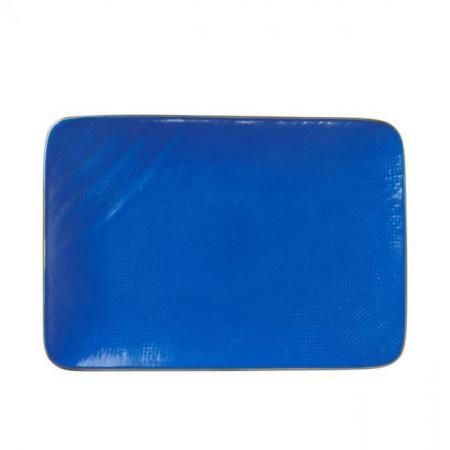 Piatto Rettangolare Mediterraneo Blu