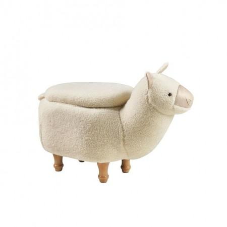 Pouf Alpaca Panna