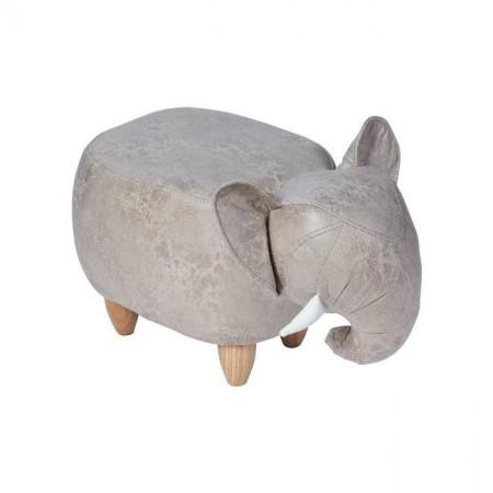 Pouf Elefante Grigio