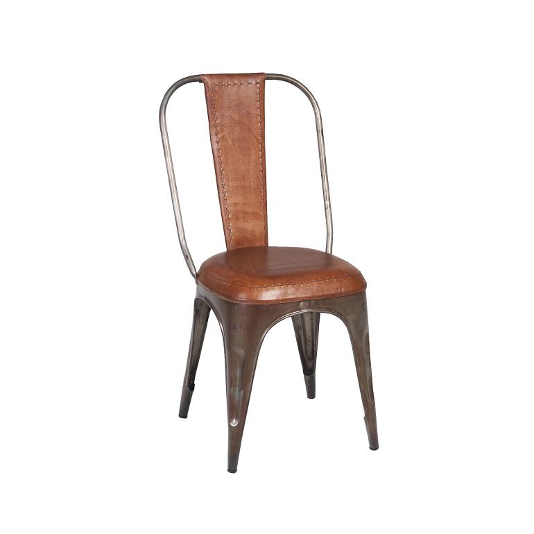 Sedia Round Leather