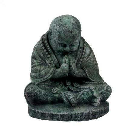 Statua Buddha Meditazione Old