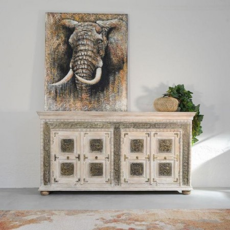 Credenza Etnica Elephant
